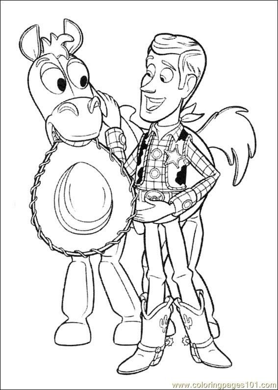 toy story 3 printable coloring pages | Toy Story 3 16 Coloring Page - Free Toy Story Coloring ...