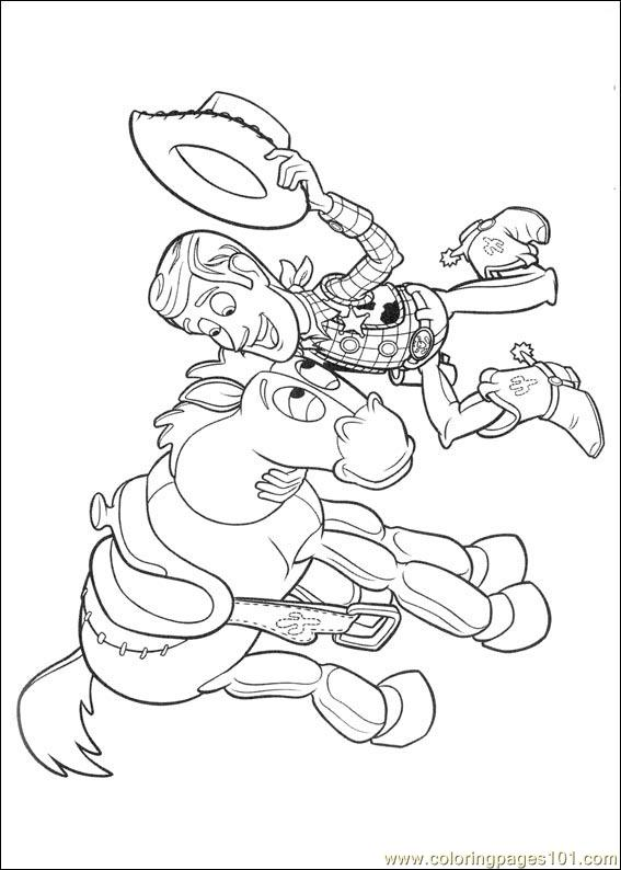 Toy Story 3 17 Coloring Page