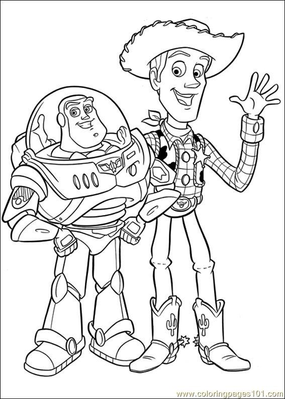 Toy Story 3 27 Coloring Page