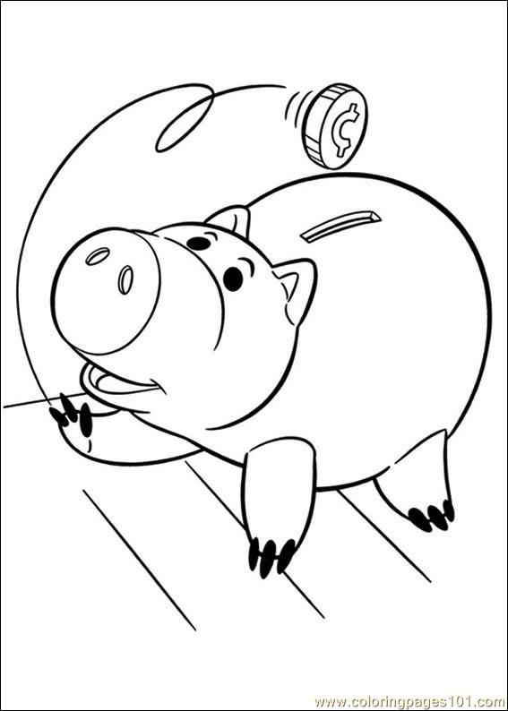 Toy Story 3 30 Coloring Page
