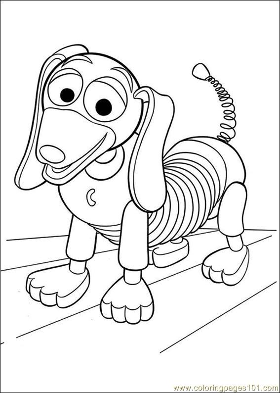 Toy Story 3 31 Coloring Page
