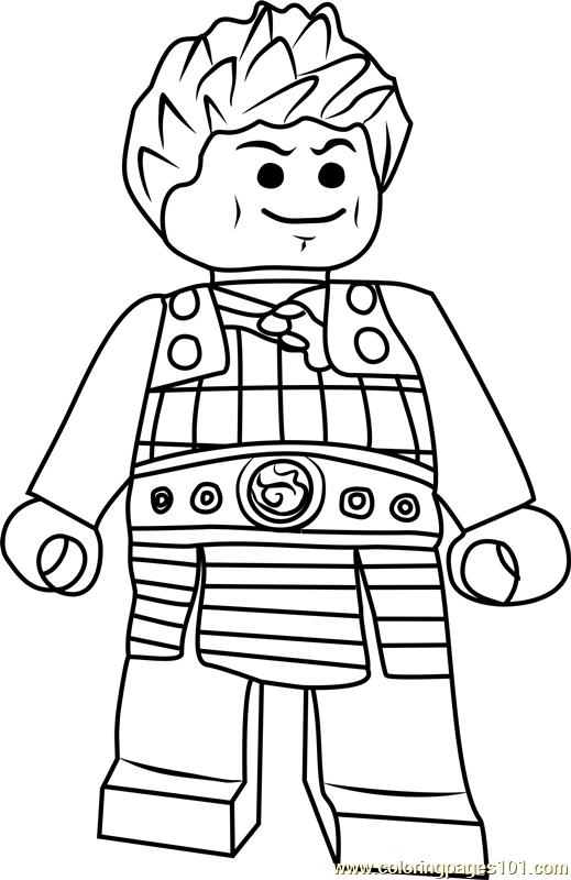 Ninjago Ash Coloring Page Free Lego Ninjago Coloring