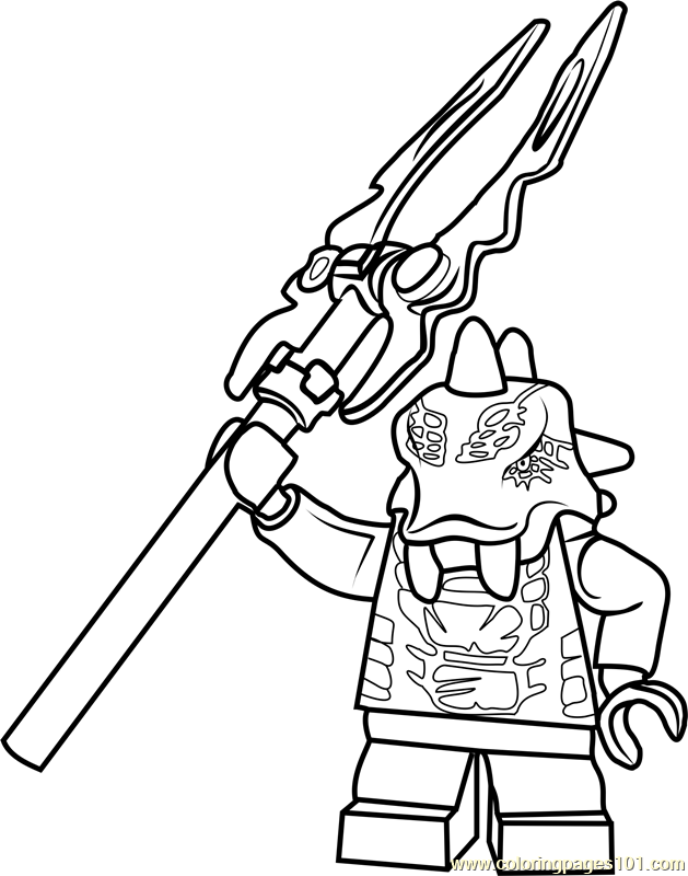 Ninjago Bytar Coloring Page Free Lego Ninjago Coloring