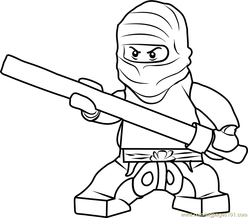 ninjago masters of spinjitzu coloring pages - ninjago cole coloring page free lego ninjago coloring