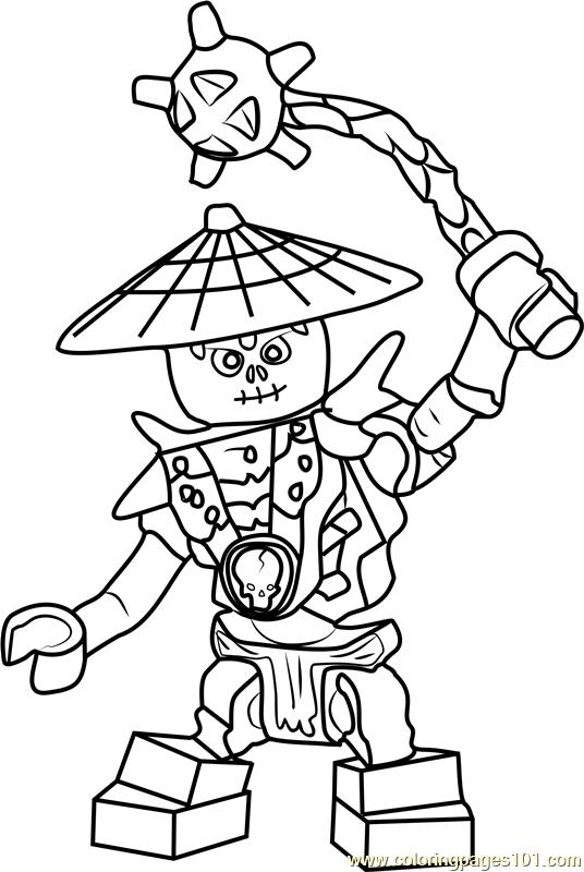 Ninjago Frakjaw Coloring Page