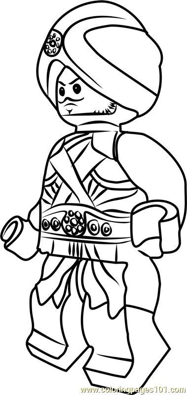 Ninjago Gravis Coloring Page