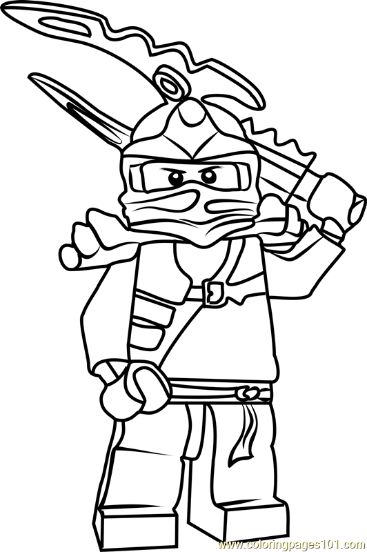 jay ninjago printable coloring pages - photo#18