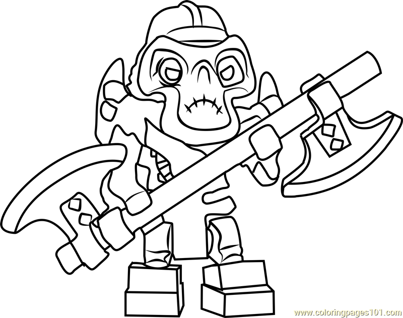ninjago kruncha coloring page  free lego ninjago coloring