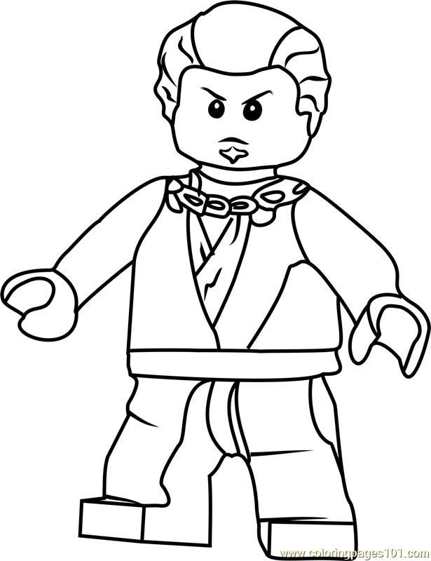 Ninjago Neuro Coloring Page - Free Lego Ninjago Coloring Pages ...