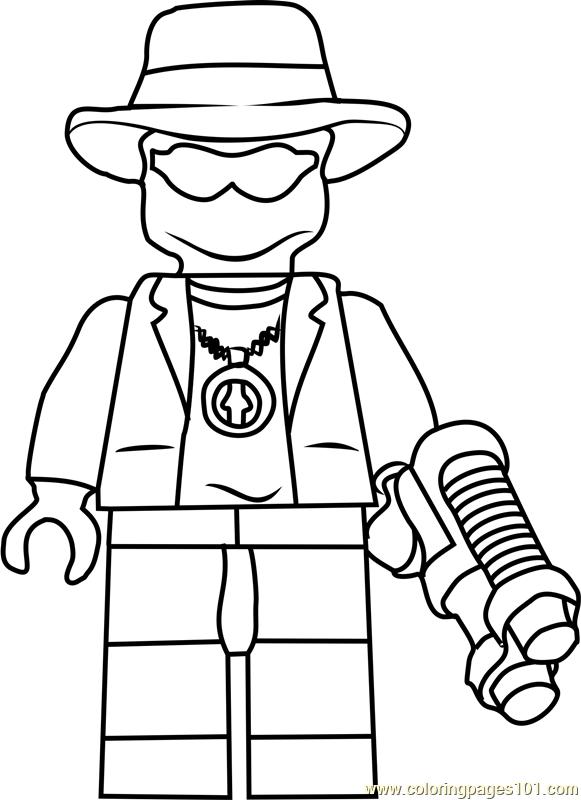 Ninjago Paleman Coloring Page