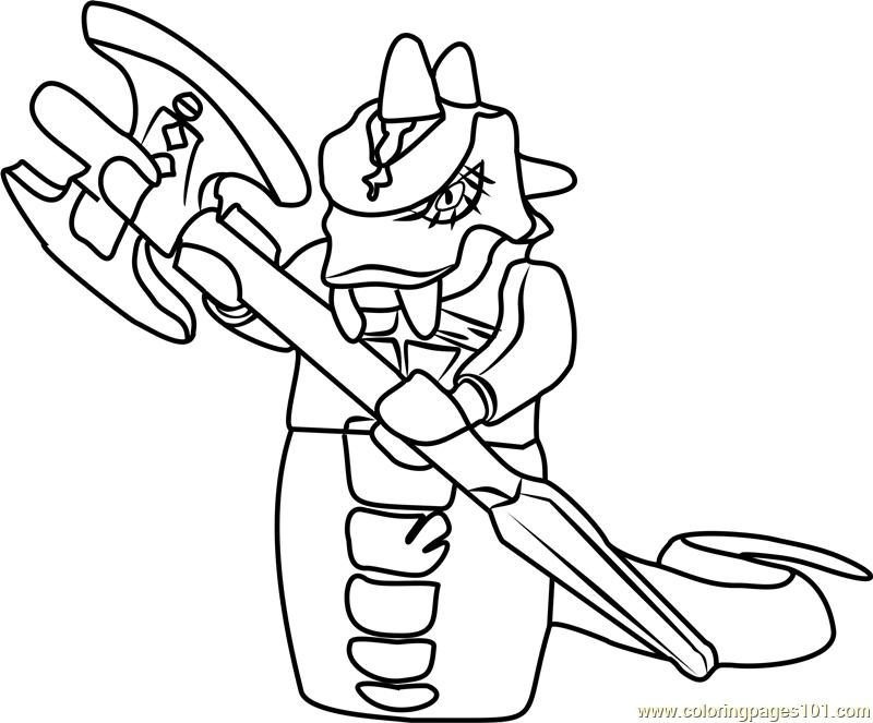 ninjago skalidor coloring page free lego ninjago
