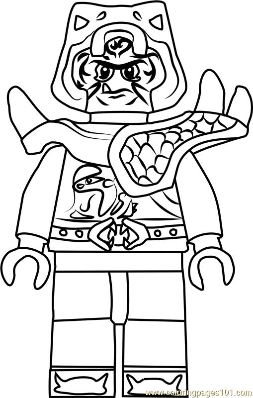 ninjago zugu coloring page - Ninjago Coloring Page