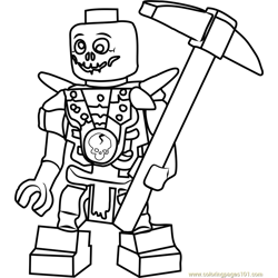 lego ghostbusters firehouse coloring pages   Ninjago Skales Coloring Page - Free Lego Ninjago Coloring ...
