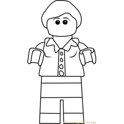 Ninjago Patty Keys Free Coloring Page for Kids
