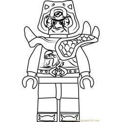 Ninjago Zugu Free Coloring Page for Kids