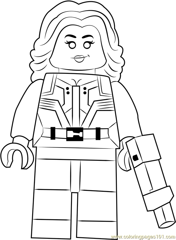 Lego Agent 13 Coloring Page Free Lego Coloring Pages Coloringpages101 Com