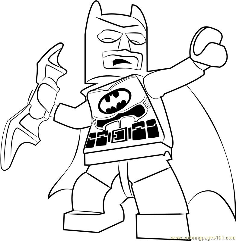Lego Batman Coloring Page - Free Lego Coloring Pages ...