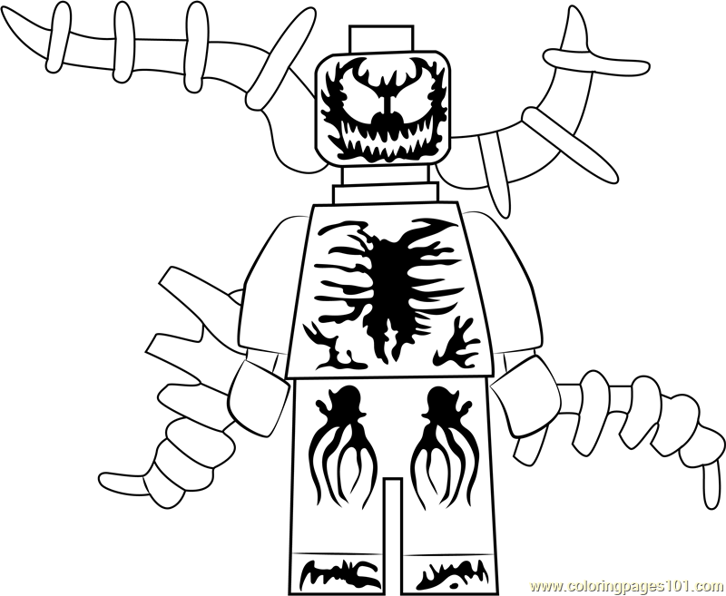 Carnage Printable Coloring Pages Best Coloring Books Landscape