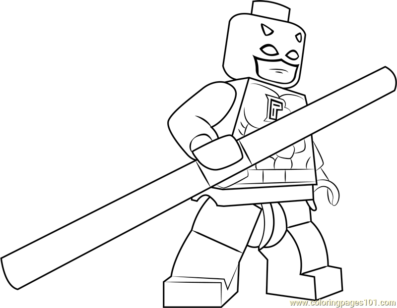 free printable daredevil coloring pages - photo#17