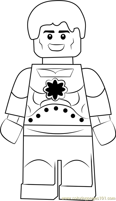 Lego Hyperion Coloring Page