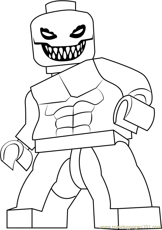 Lego Killer Croc Coloring Page - Free Lego Coloring Pages ...