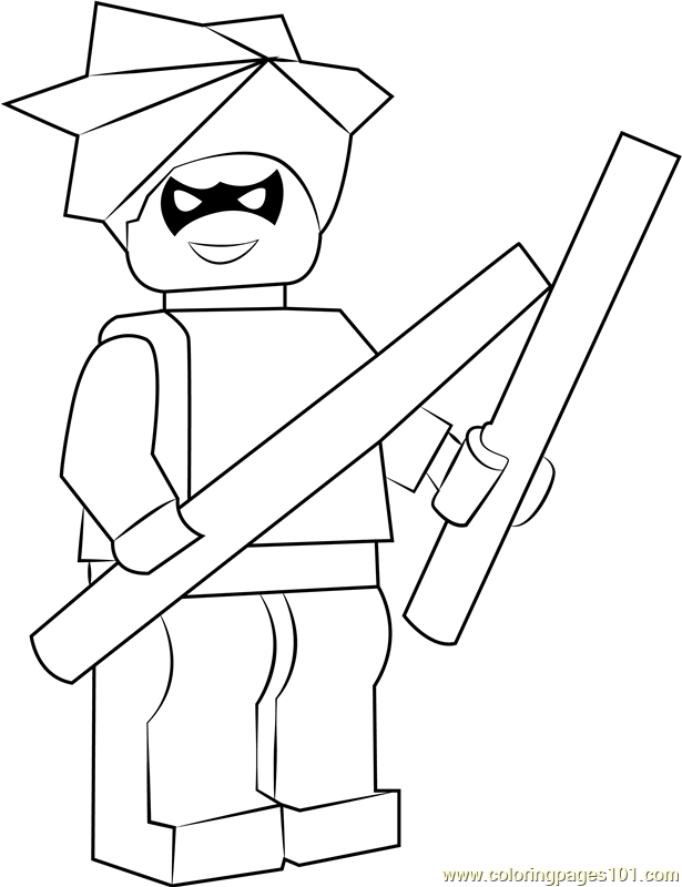 lego nightwing coloring page free lego coloring pages