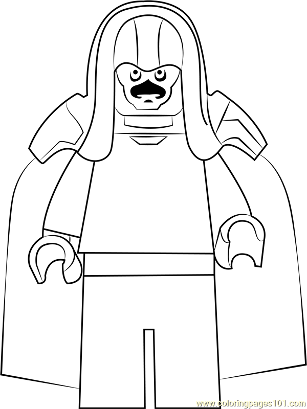 Lego Ronan The Accuser Coloring Page Free Lego Coloring