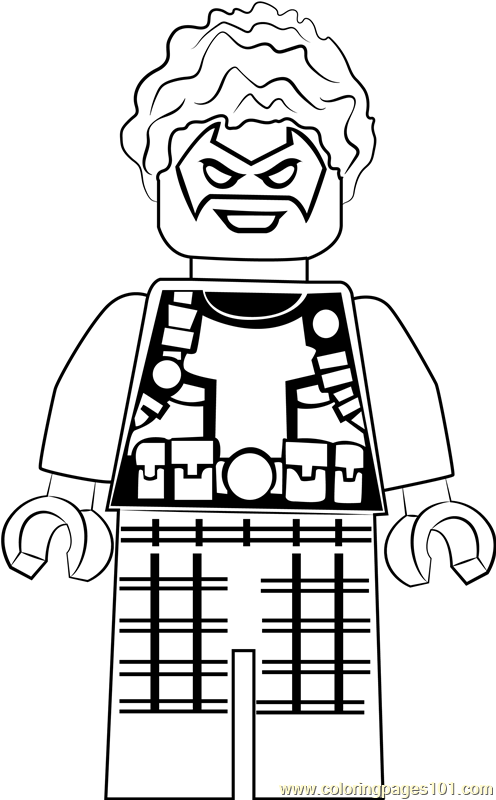 Lego Trickster Coloring Page