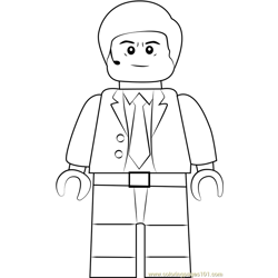 Lego Agent Coulson