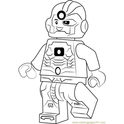 Cyborg Coloring Pages 3 Cyborg Worksheets For Kids