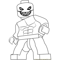 Lego Spider Man Coloring Page Free Lego Coloring Pages Coloringpages101 Com
