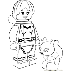 Lego Squirrel Girl