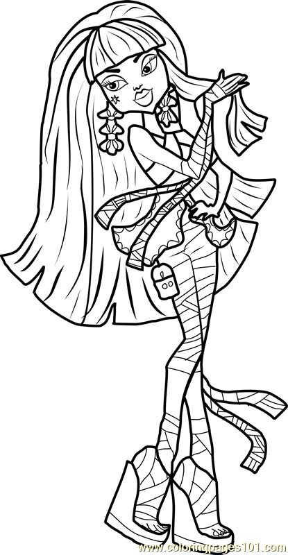 cleo de nile coloring pages - photo#19