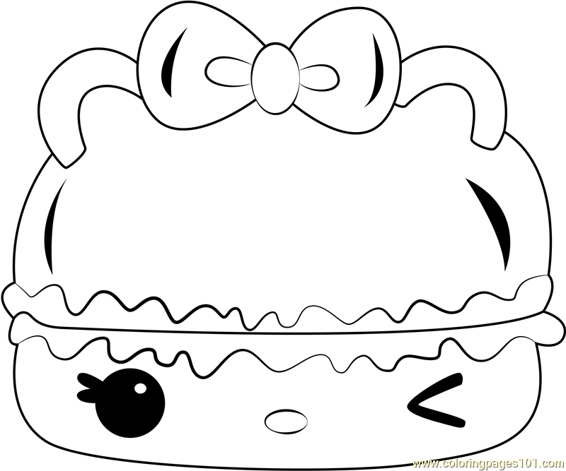 Berry Créme Gloss-Up Coloring Page