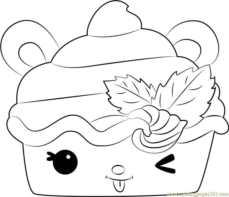 Berry Froyo Coloring Page