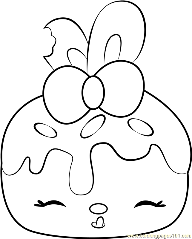 Bonnie Blueberry Coloring Page