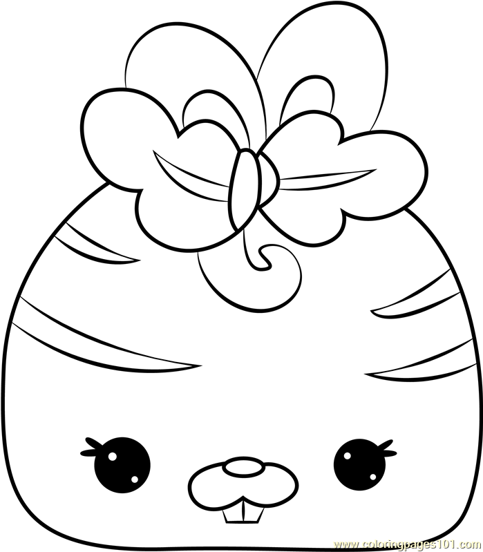 Bunny Carrot Coloring Page