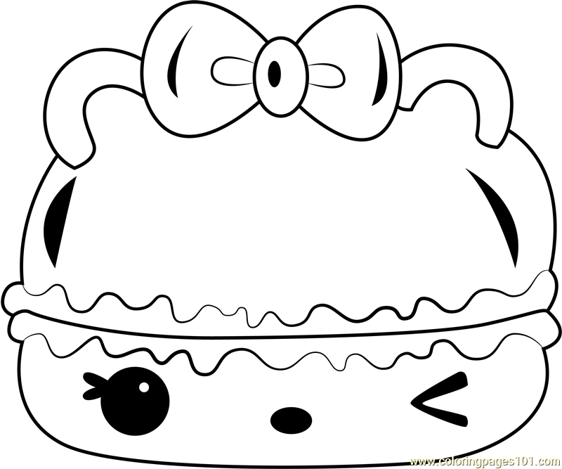 Candy Créme Gloss-Up Coloring Page