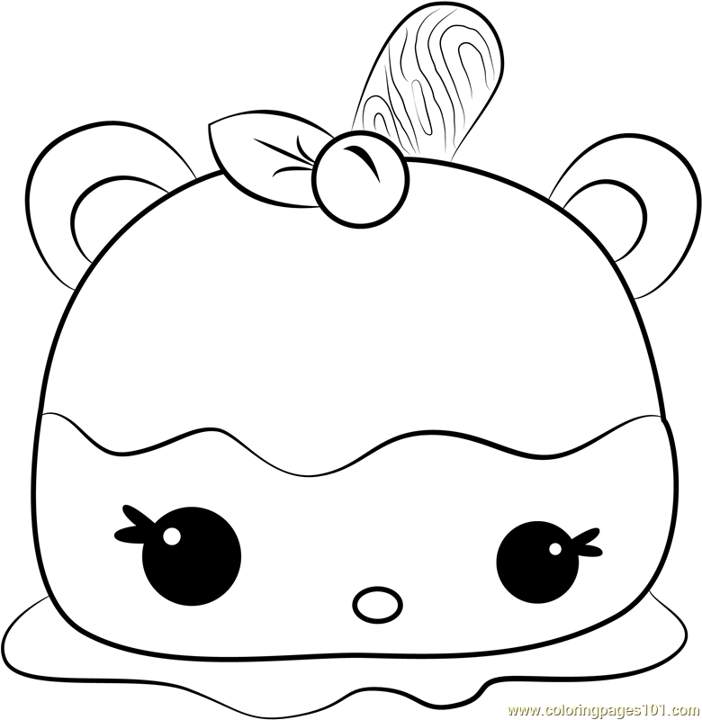 Cara Mellie Coloring Page