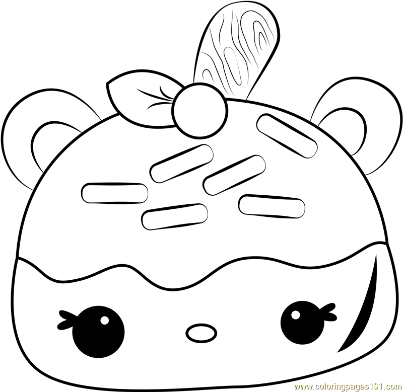 Caramel Stamp-It Coloring Page