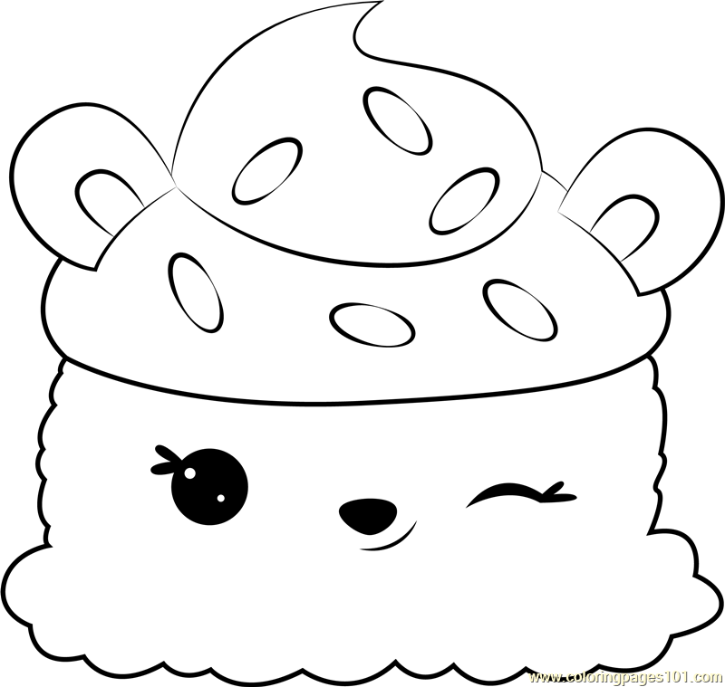 Cherry Chip Coloring Page