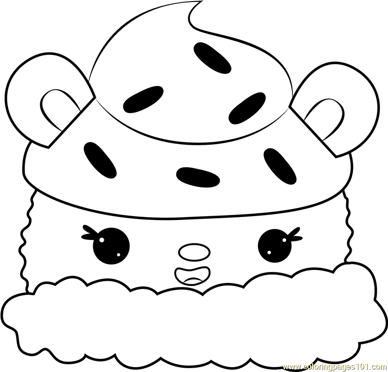 Choco Cream Coloring Page
