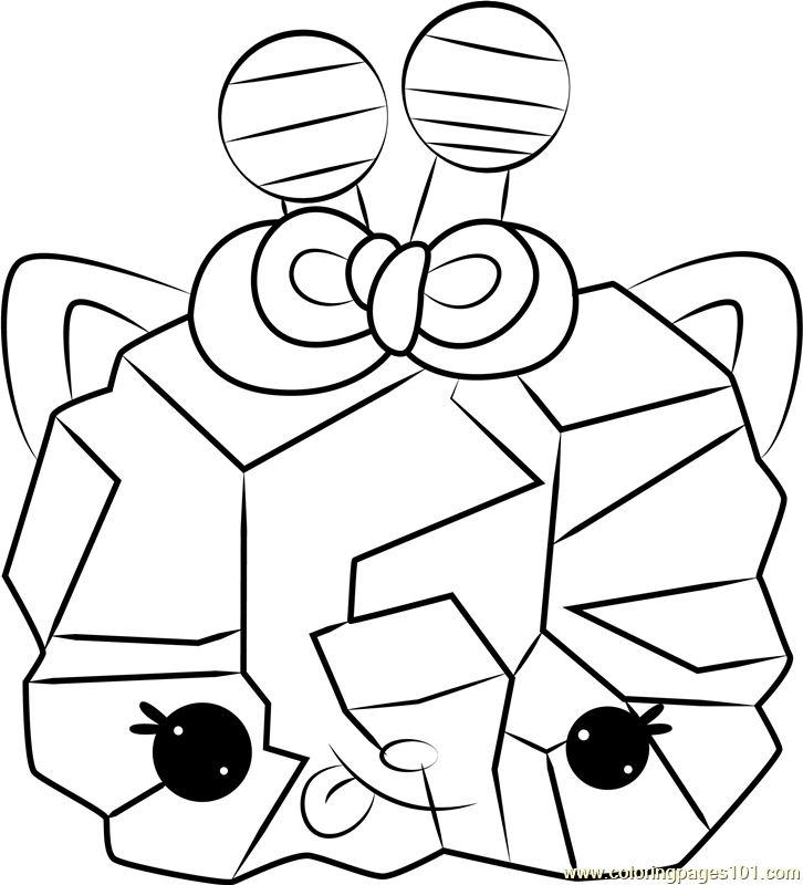 Courtney Candy Coloring Page