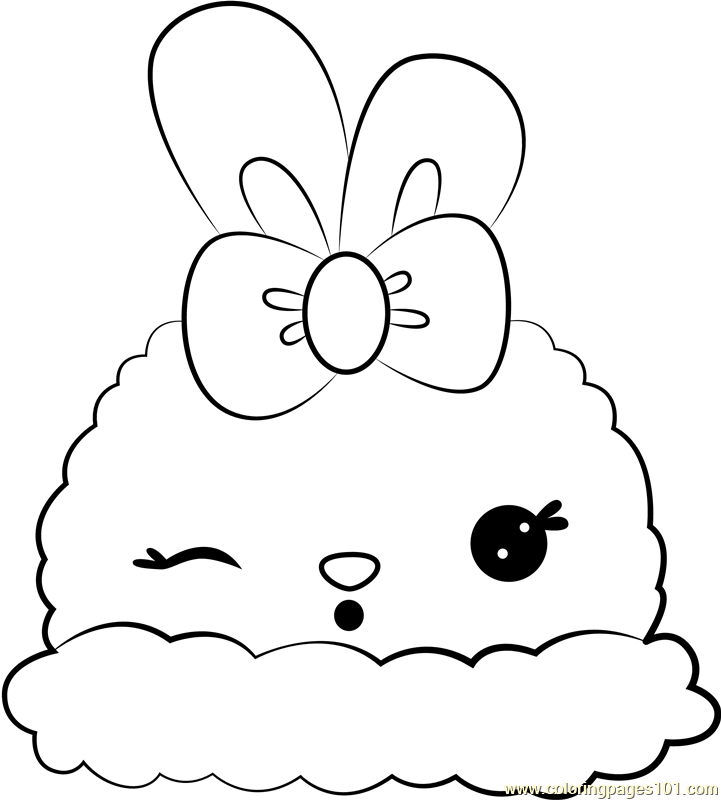 Lisa Lemon Coloring Page - Free Num Noms Coloring Pages :  ColoringPages101.com