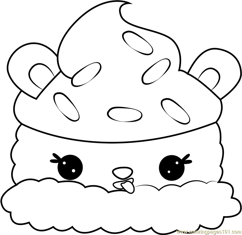Lulu Licorice Coloring Page