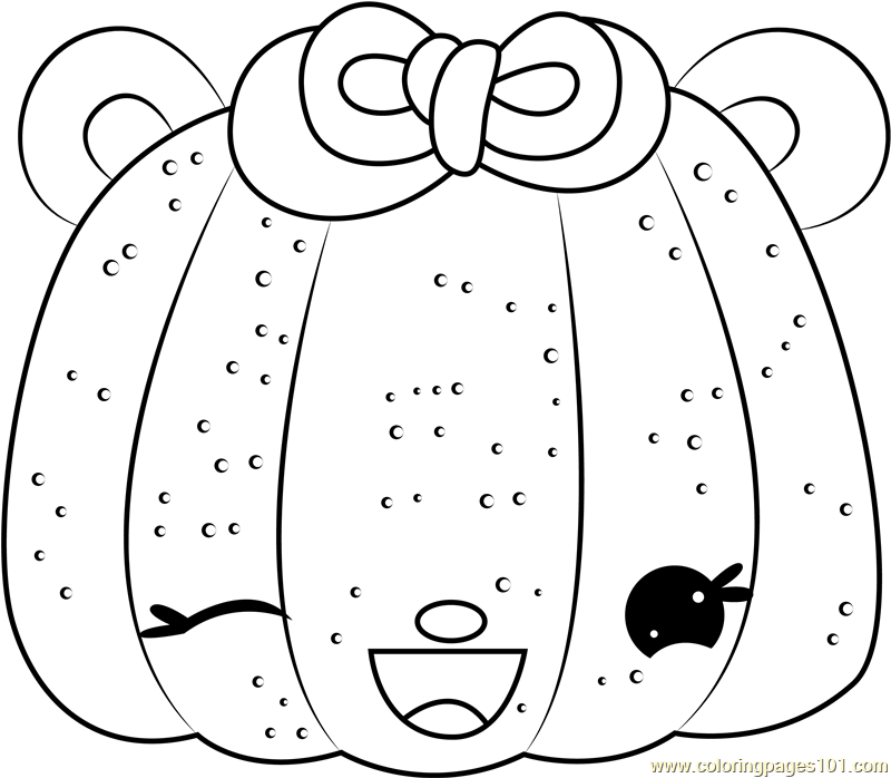 Madelyn Mango Coloring Page