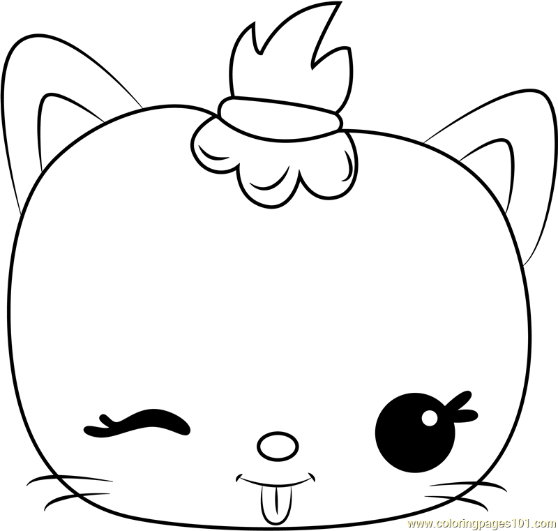 Mallow Jelly Coloring Page