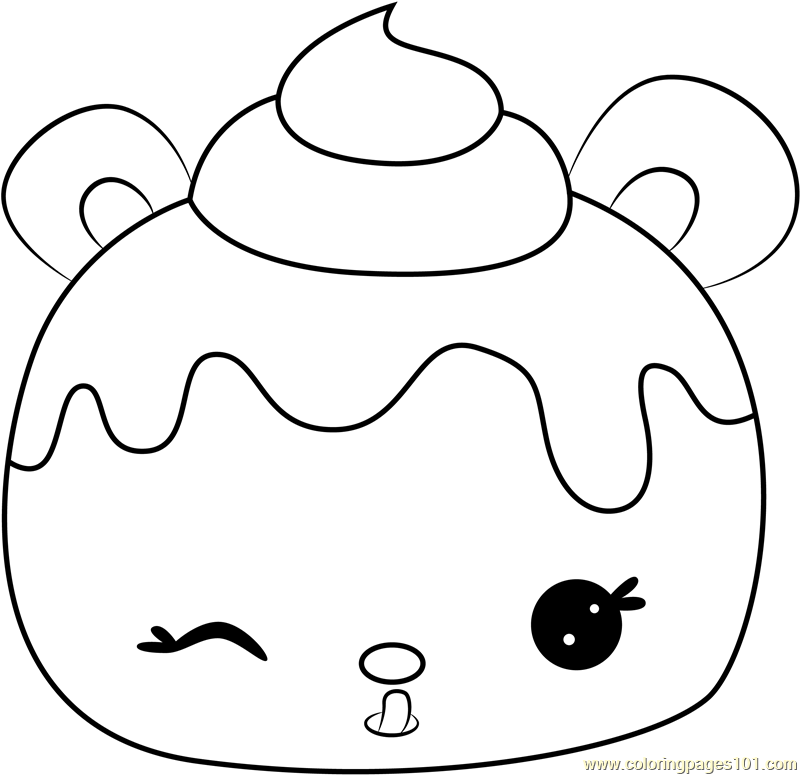 Mary Mulberry Coloring Page