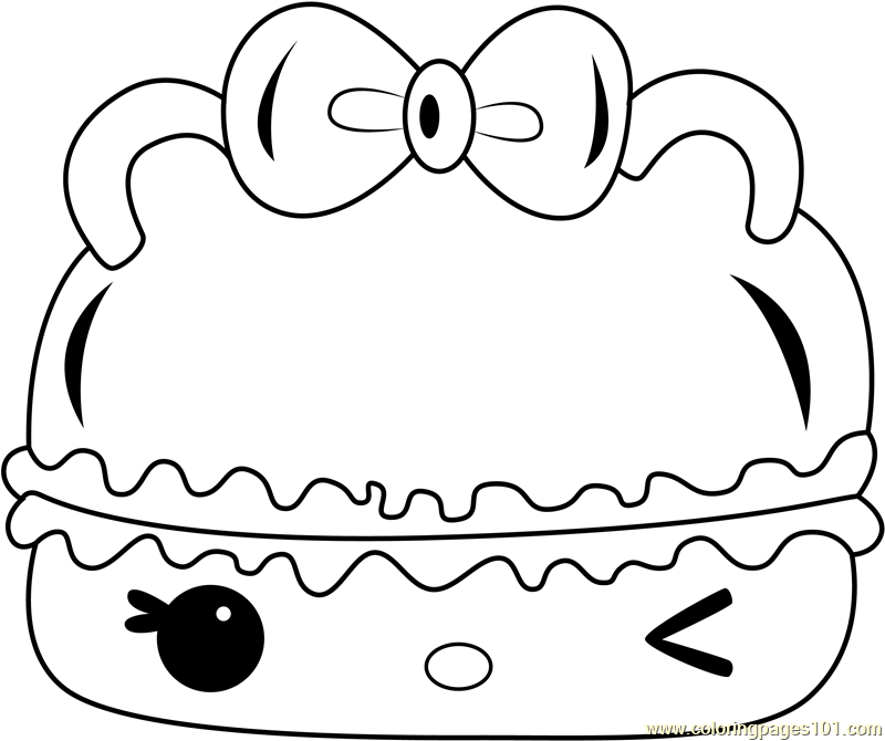 Mint Créme Gloss-Up Coloring Page
