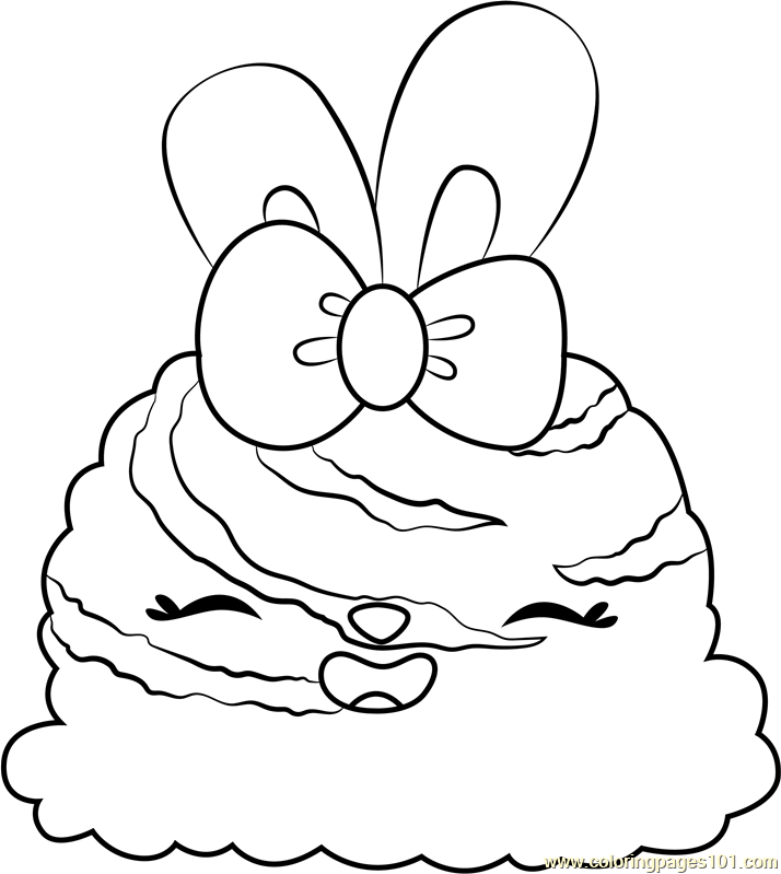 Mint Twirl Coloring Page